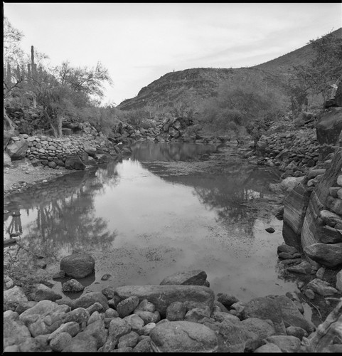 The natural water catchment or tinaja at Jesús del Monte