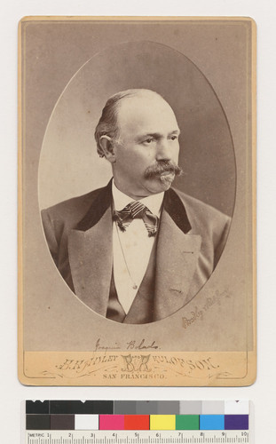 [Joaquin Bolado, related by marriage to the Abrego family of Monterey and Oakland]
