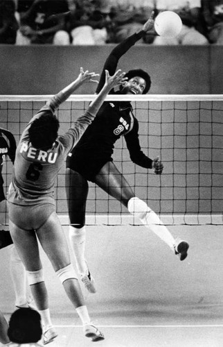 Women's volleyball, 1984 Olympics