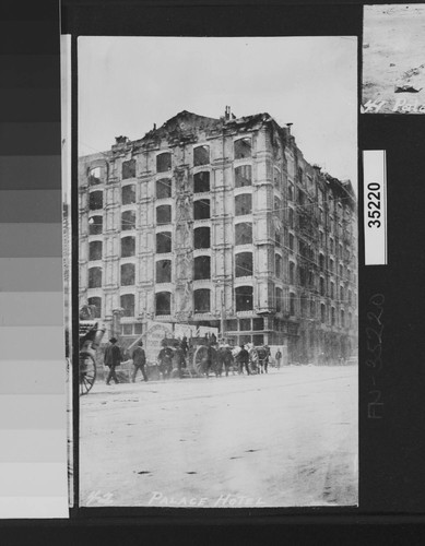 Palace Hotel. [Market and New Montgomery Sts.]