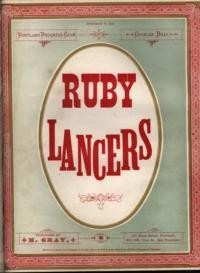 The ruby lancers / Chas. Bray