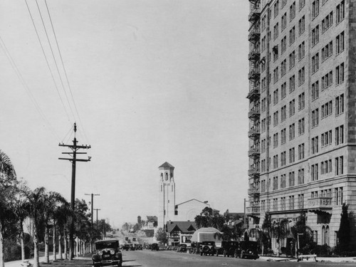 Gaylord Apts., Brown Derby, And Wilshire Christian Church