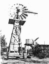 Windmill on the Clyde Pierce Ranch