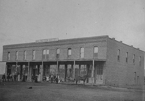 Arlington Hotel Porterville Calif 1895