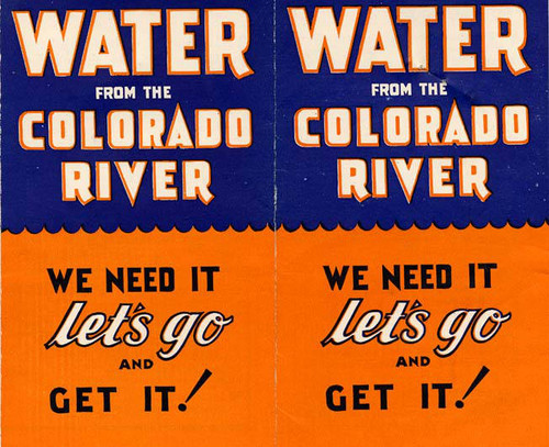 Water from the Colorado River (sides 1 and 8)