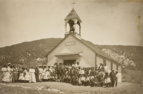 St. Mary's Catholic Church and congregation on the Morongo Indian Reservation bordering Banning, California