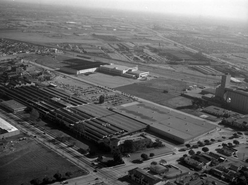 B.F. Goodrich plant, Commerce, looking southeast