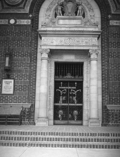 State Exposition Building entrance