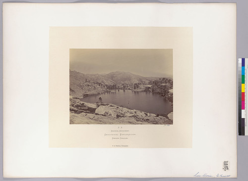 Lake Marian, E. Humboldt. [East Humboldt Mountains]