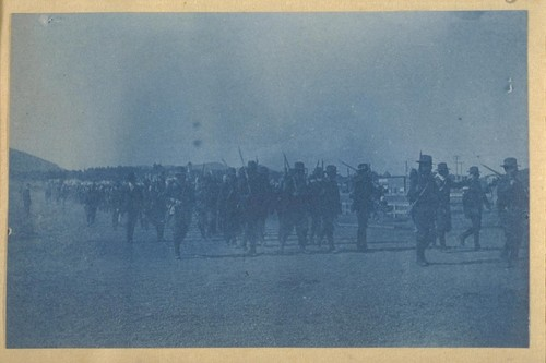 14th Infantry on the march, to go on board the transport