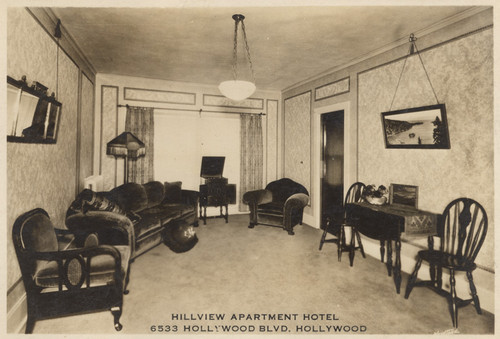Hillview Apartment Hotel 6533 Hollywood Blvd