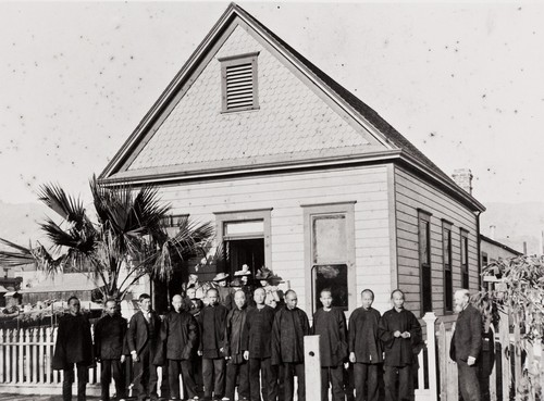 Chinese Congregational Church : 1006 Chapala Street, Santa Barbara ; Mr. McKinley, osteopath, was Sunday School teacher