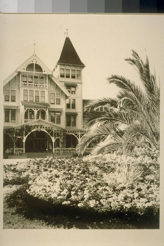 [Hotel Del Monte and grounds. Monterey.]