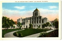 The Los Angeles Public Library, Los Angeles, California