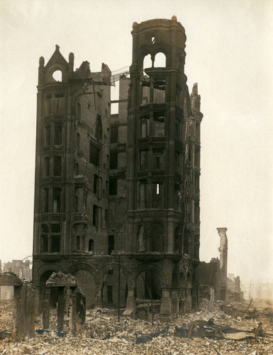 Pacific Mutual Insurance Company, San Francisco Earthquake and Fire, 1906 [photograph]