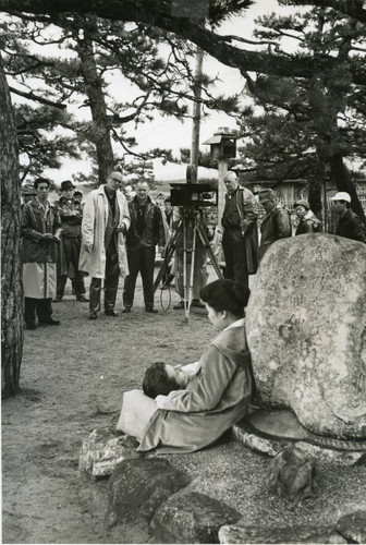 "Production still from ""A Girl Named Tamiko"" (1962)"