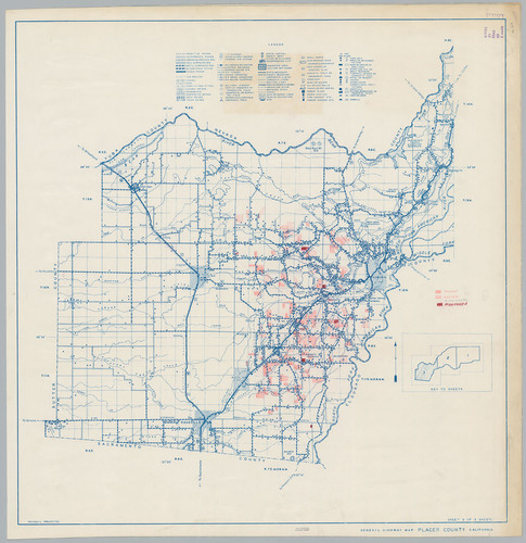 Calisphere: General Highway Map, Placer County, Calif. Sheet 3