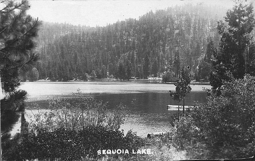 Sequoia Lake, Sequoia National Park, Calif., 1920s