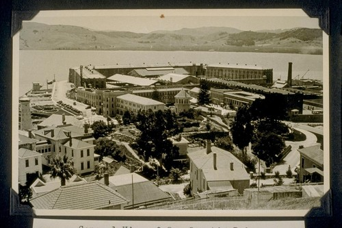 General view of San Quentin Prison