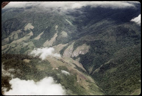 Aerial view of New Guinea