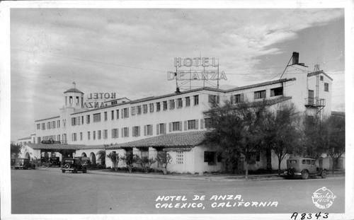 Hotel De Anza Calexico California