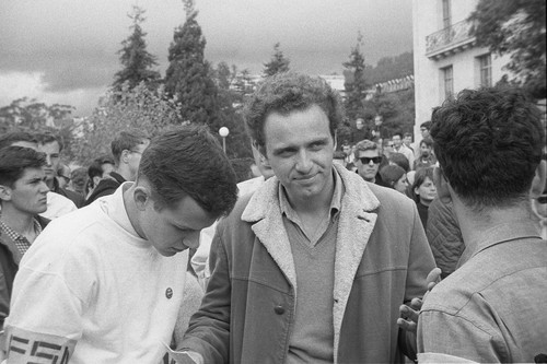Sid Stapleton and Mario Savio
