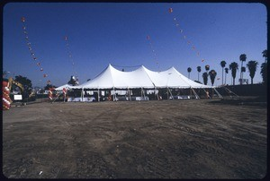 University of Southern California groundbreaking for Galen Center, Los Angeles, 2004