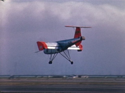 F 3075 Ryan VZ-3 Vertiplane STOL prototype flight tests Moffat field