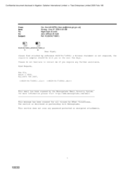 [Email from Ken Ojo to Nigel Espin regarding the attached reference KO28/04 716061]
