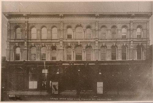[Photograph of Grand Opera House]