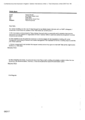 [Email from Mounif Fawaz to Mark Rolfe regarding Summarizing the position on the Tlais matter]