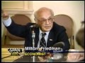 Milton Friedman testifying before the House Republican Economic Task Force