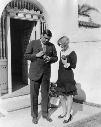 Babe Ruth and Marion Davies