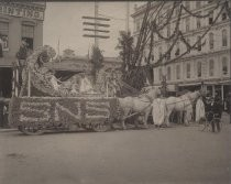 Normal School Float, Rose Parade May 14, 1901