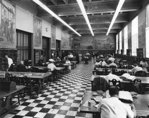 History Department murals, Los Angeles Public Library