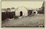 [Mission San Buenaventura, bath houses and reservoir] # B2997.