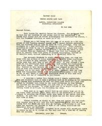 Letter from Edward Vincent Dockweiler to Isidore B. Dockweiler, November 30, 1941
