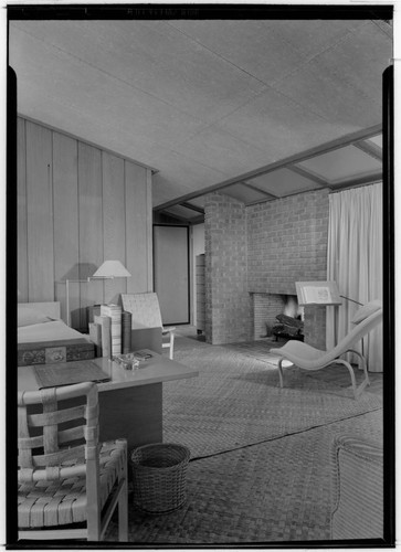 Havens, Weston, residence. Bedroom