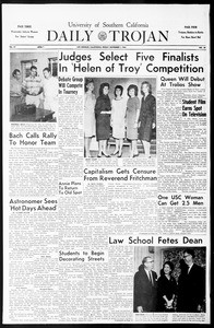 Daily Trojan, Vol. 55, No. 29, November 01, 1963