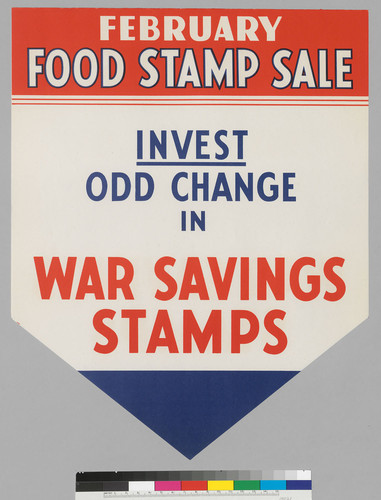 February Food Stamp Sale: Invest Odd Change In War Savings Stamps