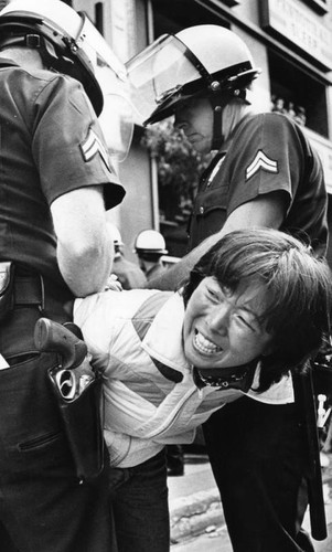 May Day march arrest, 1982