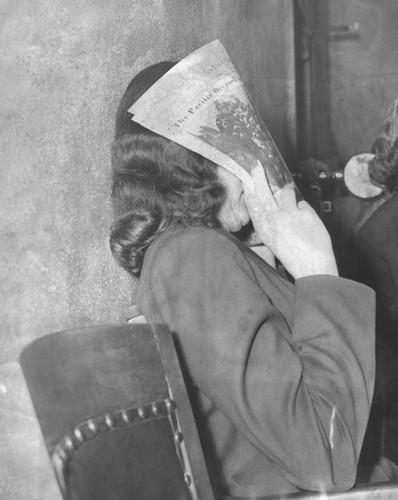 Calisphere Brenda Allen Charged Vice Queen Pandering Trial