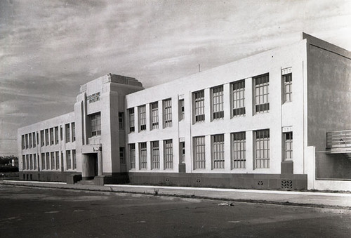 [Exterior of Francis Scott Key elementary school]