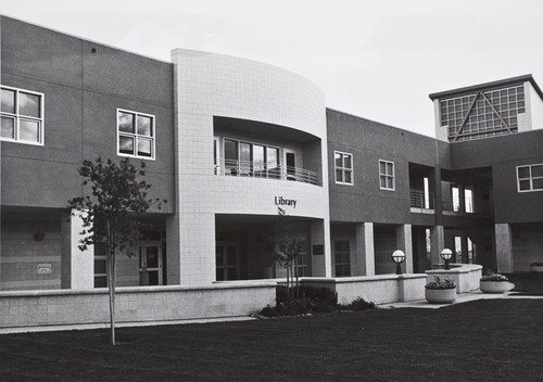 Photograph of Library Building at Contra Costa campus