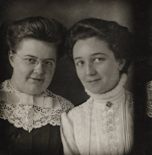 Mildred and Winifred White