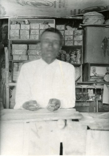 """El Chino"" in Valle Trinidad in his little store"