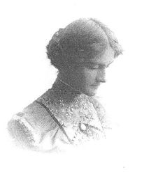 Alice F. Griffith, daughter of Nathaniel A. Griffith, developer of the Gravenstein apple
