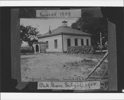 Oak Grove School, Graton, California, 1905