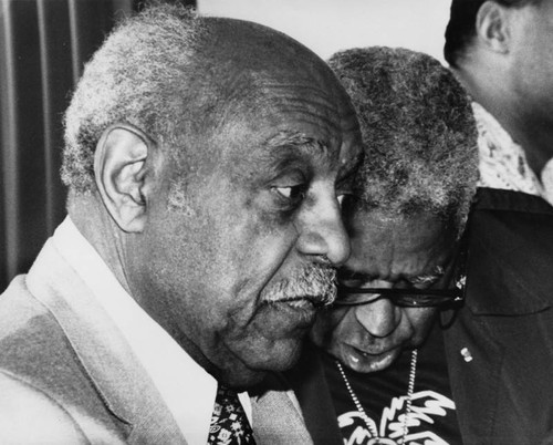Benny Carter and Dizzy Gillespie