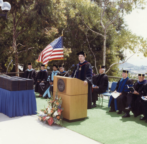 Commencement- Graduate School of Education and Psychology
